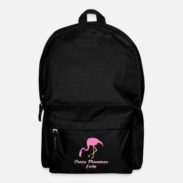 Palm Trees Funny flamingo summer lake beach holiday gift - Backpack