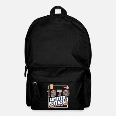 Limited vintage retro 1970 born birthday! - Backpack