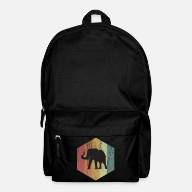 Tusk Elephant tusked animal circus africa gift idea - Backpack