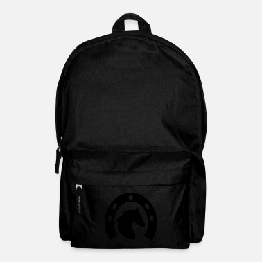 Equitation Horse with horseshoes, horses, riding, equitation - Backpack