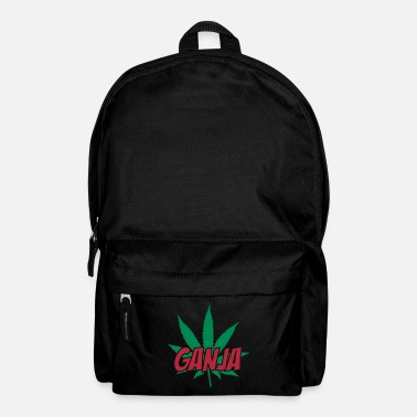 Ganja Ganja Quote - Backpack