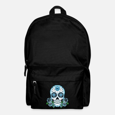 Sugar Skull Blue Sugar Skull - Backpack