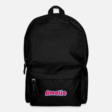 First Name Amelie name first name - Backpack