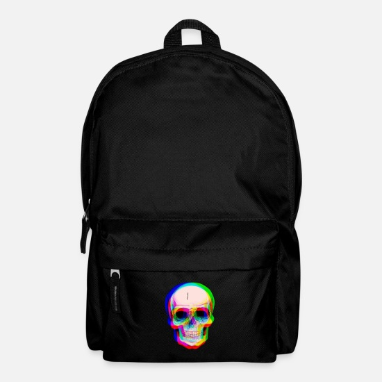 Skull Bags & Backpacks - 3D skull - Backpack black
