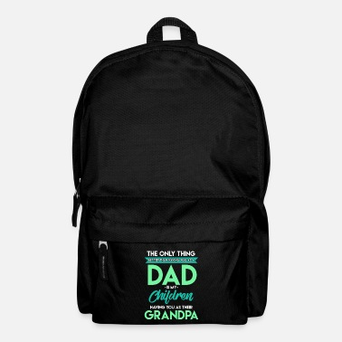 Fathers Day Father's Day - Backpack