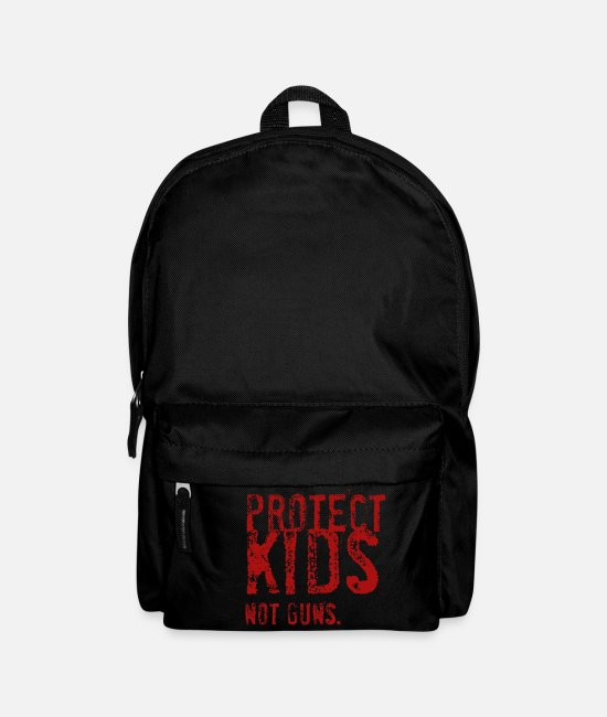 Enough Bags & Backpacks - Protect Kids - Not Guns - Backpack black