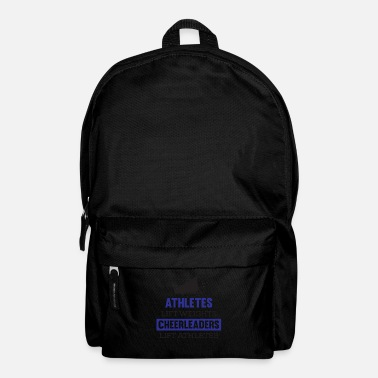 Amature Athlete Awesome Athletes lift weights Cheerleaders Tshirt - Backpack