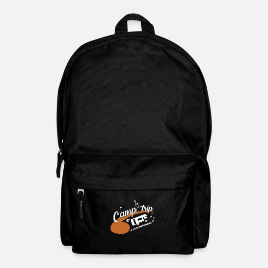 Travel Bags & Backpacks - Camp Trip Caravan Outside - Backpack black