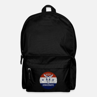 Democrat Vote Democratic Vintage Democrat - Backpack