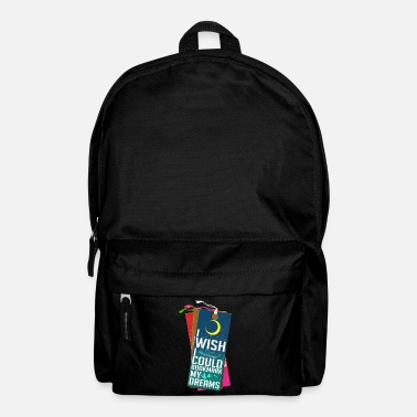 Mind-reader I Wish I Could Bookmark My Dreams - Backpack