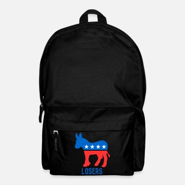Democrat Democrat Donkey Losers - Backpack