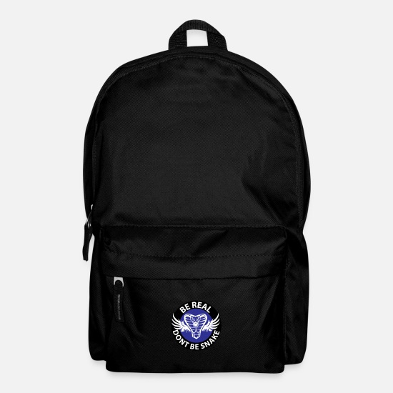 Surprise Bags & Backpacks - Do not be a serpent, be honest - Backpack black