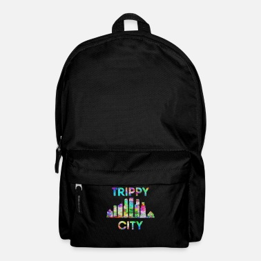 Psychedelic Trip City - Backpack