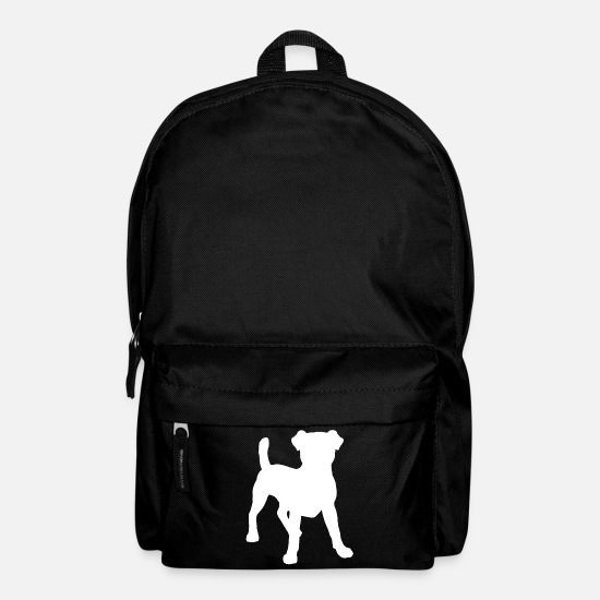 Terrier Bags & Backpacks - Jack Russell - Backpack black