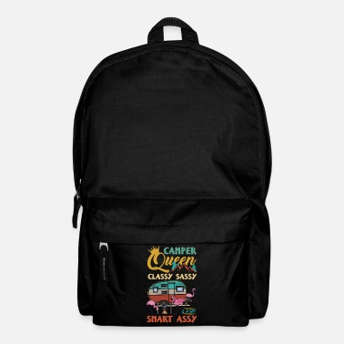 Camper Queen Classy Sassy And A Bit Smart Assy - Backpack