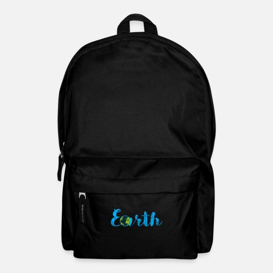 Gift Idea Bags & Backpacks - Earth Day - Earth Day - Backpack black