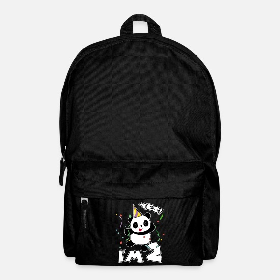 2nd Birthday Panda Party Yes Im 2 Years Old Gift Backpack