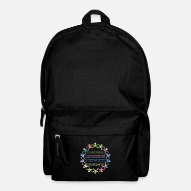 Democrat People charity nature conservation religion gift - Backpack