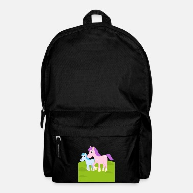 Foal Horse with a foal - Backpack