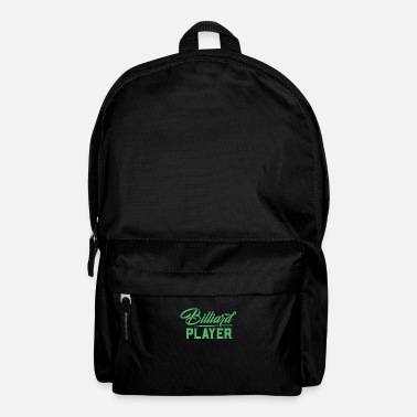 Pool Billiard Pool Table Billiard Pool Pool Billiards - Backpack