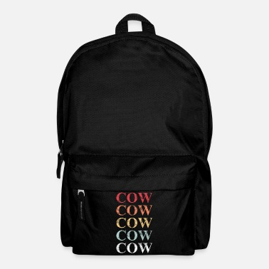 Cow Cow Cow Cow Cow Cow - Backpack