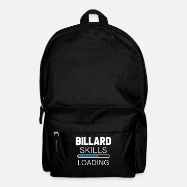 Pool Billiards skills - Backpack