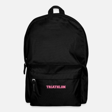 Triathlet Triathlete triathlete triathlete triathlete - Backpack