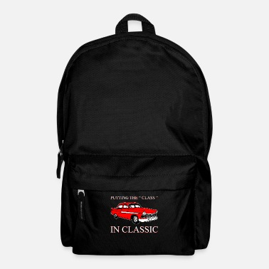 Surprise Style Classic Car Vintage Classic - Backpack