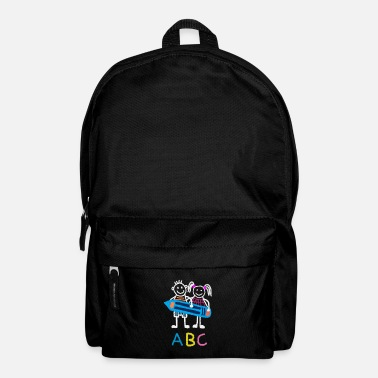 School Beginner Beginning of school enrollment school beginner ABC - Backpack