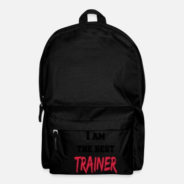 Entrainer Coach I am the best trainer - Rucksack