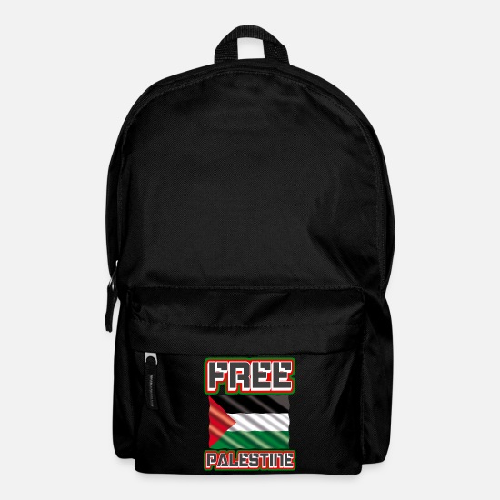Freedom Fighters Bags & Backpacks - Free Palestine - Palestine Flag, Palestine, Gaza - Backpack black