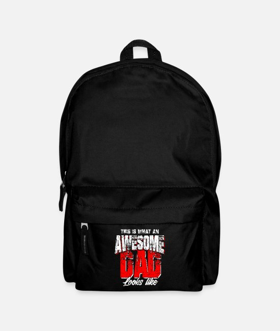 Proud Bags & Backpacks - father - Backpack black