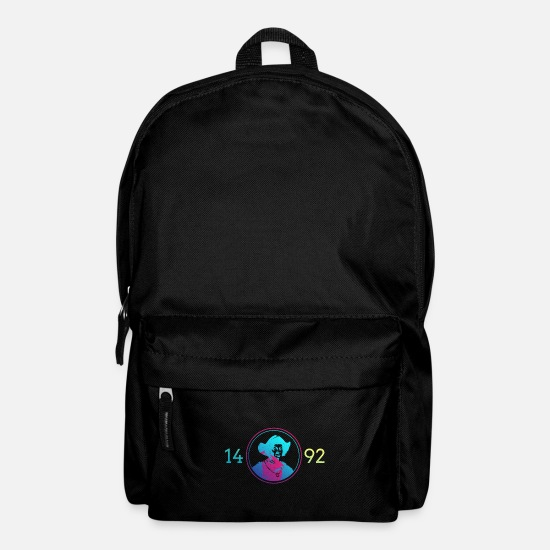 Columbus Bags & Backpacks - Christopher Columbus Day in America - Backpack black