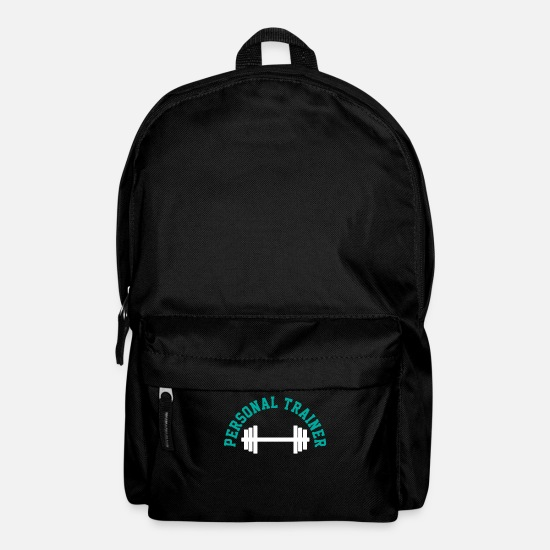 Instructor Bags & Backpacks - fitness trainer - Backpack black
