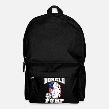 Donald Donald Pump Trump Bodybuilder Gym Fitness Training - Rucksack