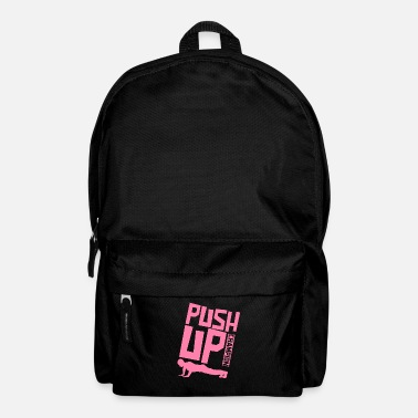 Push Up Push-up push ups endurance sports pushups - Backpack