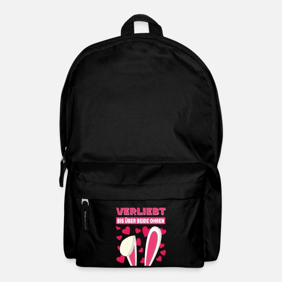 Love Bags & Backpacks - In love to the ears - Backpack black