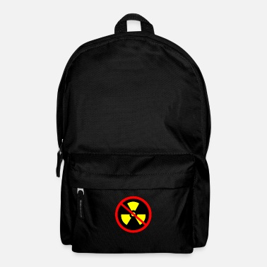 Nuclear Power Anti nuclear power Nuclear power stations Nuclear energy Atomic energy - Backpack