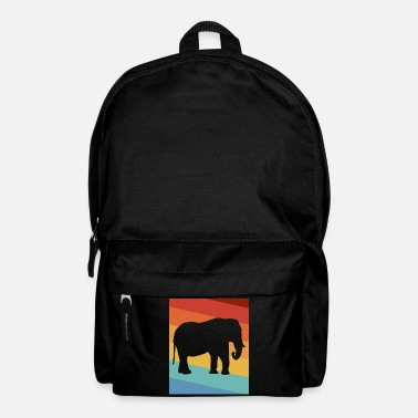 Tusk Elephant tusked animal - Backpack