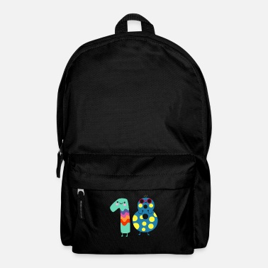 Legal Age 18 years birthday of age celebrating gift - Backpack