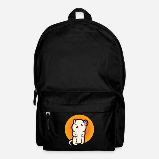 Birthday Bags & Backpacks - Mission hamster - design - Backpack black