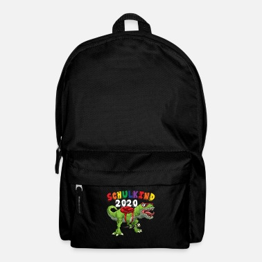 School Beginner Schoolchild T-Rex school enrollment - Backpack
