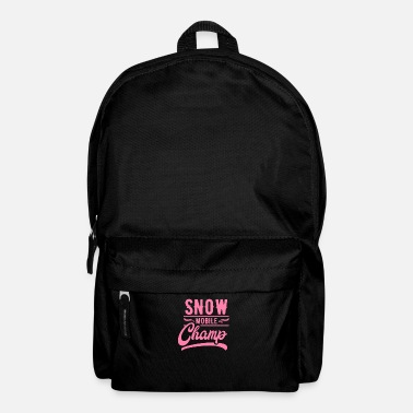 Vehicle Snowmobile mobile mom snow snowmobile - Backpack