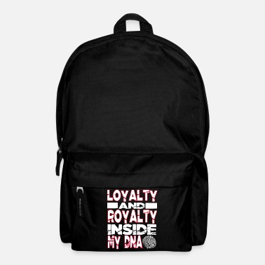 Hip Loyalty and Royalty Inside My DNA Hip Hop Rap - Rucksack