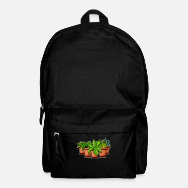 Plant-grounds plants - Backpack