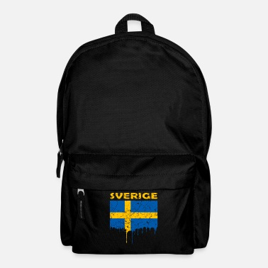 Swedish Swedish flag - Backpack