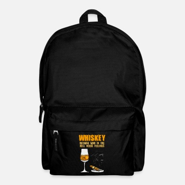 Whiskey Whiskey cigar and whiskey - Backpack