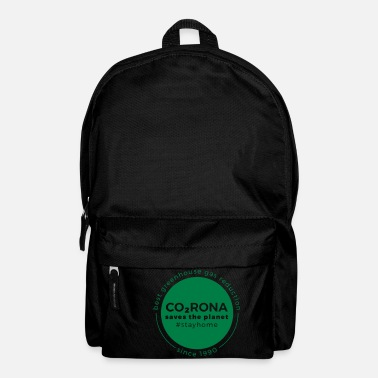 Save Corona saves the planet - Backpack