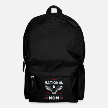 Militair Trotse National Guard Mom Memorial Day Gift - Rugzak