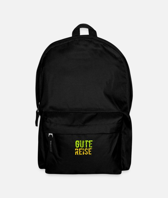 Travel Bags & Backpacks - Good Trip - Backpack black